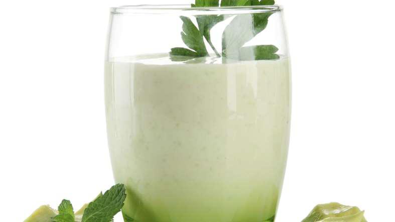 Aging Process - Almond Milk Smoothie