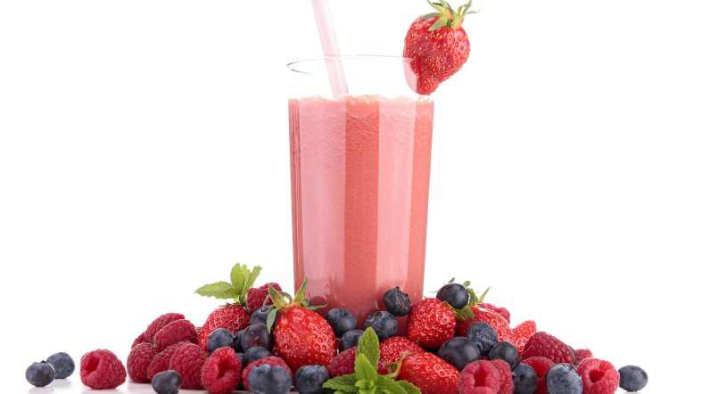 Greek Yogurt Fruit Smoothie
