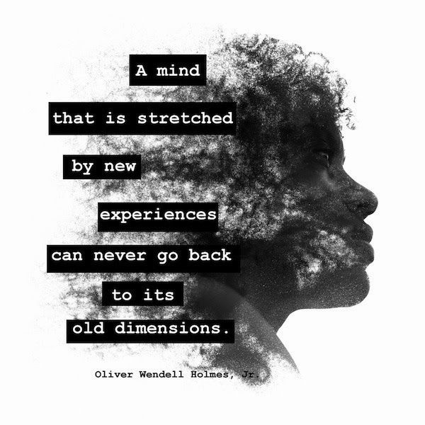 growing old - New Experiences