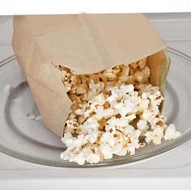 Microwave Popcorn Bags
